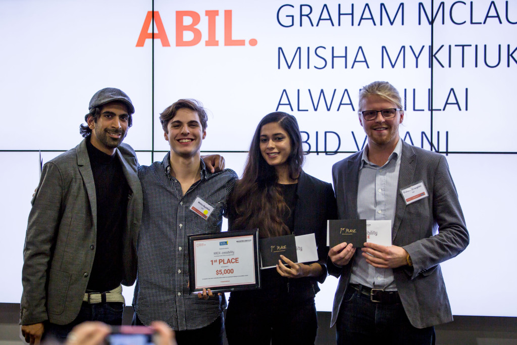 Photo of first place team: abil.